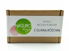 Mydło Naturologia - z glinką różową