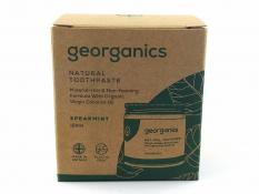 Pasta do zębów GEORGANICS (ZIELONA MIĘTA) 120 ml