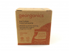 Pasta do zębów GEORGANICS (POMARAŃCZE) 60 ml