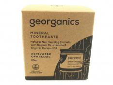 Pasta do zębów GEORGANICS (WĘGIEL AKTYWNY) 120 ml